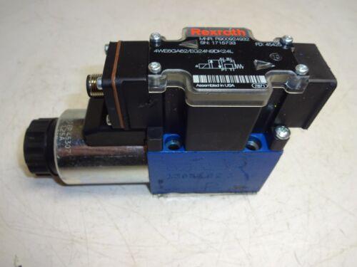 REXROTH R900924932 HYDRAULIC SOLENOID VALVE 4WE6GA62/EG24N9DK24L