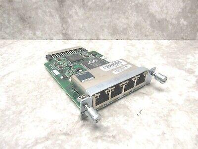 Cisco HWIC-4ESW 4-Port High-Speed WAN Interface Card RJ-45 10/100 73-8474-06