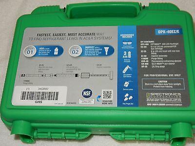 New Spectroline Opk-40eze Complete Ez-ject Leak Detection Kit Multi-dose