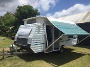 2000 Gazal 17 foot poptop caravan Helensburgh Wollongong Area Preview