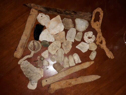 Confederate camp site relics lead