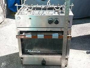 Stainless steel Gas Maxi Gas  Stove , 2 - burner / oven Buddina Maroochydore Area Preview