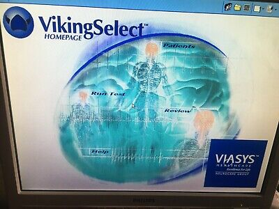 Nicolet Viasys Viking Select Neurodiagnostic System W Software Accessories