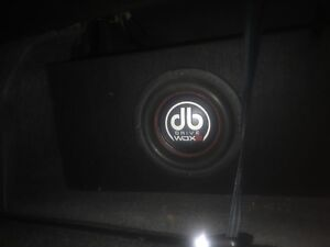 """DB Drive WDX Competition series 8"""" Sub Woofer"""