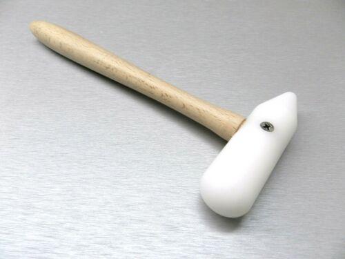 Nylon Hammer Plastic Mallet Round & Cone Head Metalsmith & Beading Jewelry Tools