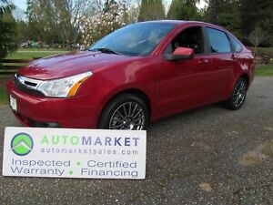 2009 Ford Focus SES, LEATHER, MOONROOF, LOADED, INSP, WARR