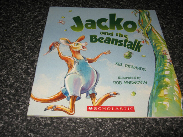 JACKO AND THE BEANSTALK BY KEL RICHARDS AND ROB AINSWORTH BRAND NEW SOFTCOVER