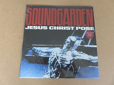 "SOUNDGARDEN Jesus Christ Pose 12"" & POSTER SLEEVE RARE 1992 ORIGINAL SEALED COPY"