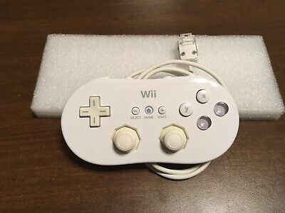 OEM Nintendo Wii Classic Controller White Official RVL-005 FREE SHIPPING!!!