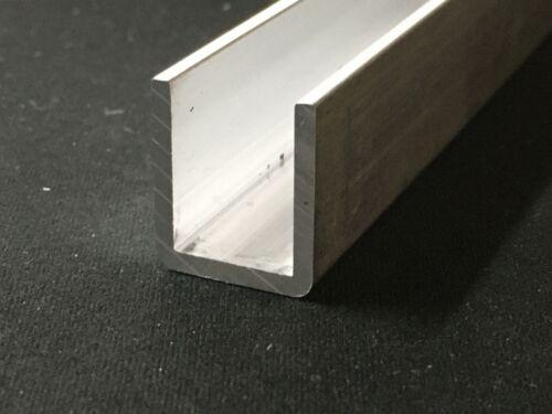 Aluminum Channel 18.6mm Leg x 16mm Base Width x 12mm Inside x 2mm Thick x 350mm