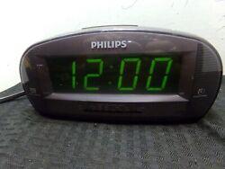 Philips AJ3540/37 AM FM Alarm Clock Radio Large Digital Display SHIPS FREE!