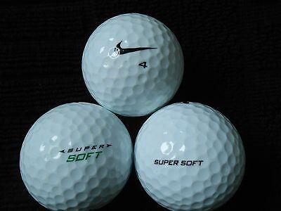 """20  NIKE """"SUPER SOFT""""  - Golf Balls  -  """"PEARL/A""""  Grades."""