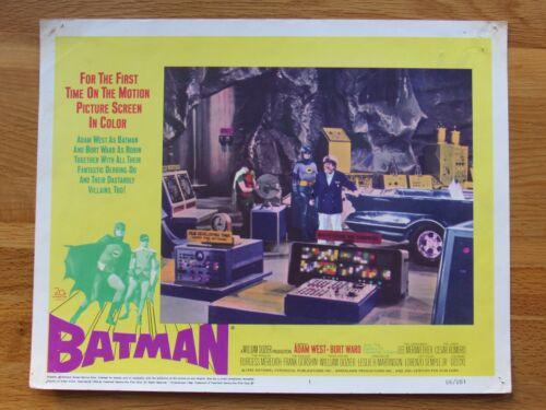7 Batman 1966 US Cinema Theater Lobby Cards Rare