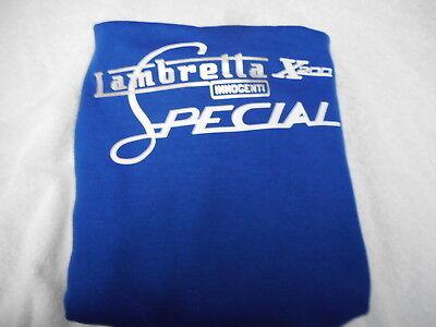 LAMBRETTA SPECIAL SX200 LIMITED EDITION HOODY LIGHT BLUE MOD SKIN VESPA RETRO Sx 200 Light