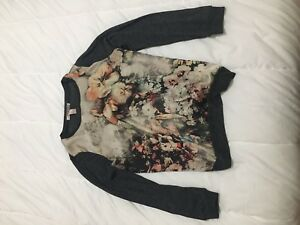 LONG SLEEVED CHIC FLORAL TOP