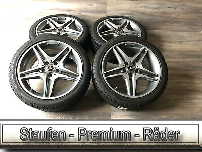 4 Original Mercedes Winterräder A- Klasse W176 C117 X176 18Zoll A1764010100 Nr.Q
