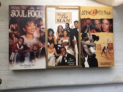Soul Food, Love & Basketball & The Best Man, VHS Movie