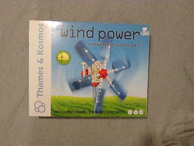 Thames   Kosmos Wind Power Renewable Energy Science Kit Build Wind Turbine New