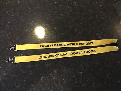 Rugby League World Cup 2017 Lanyard Neck Strap