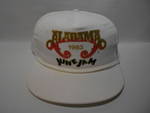 Rare Vintage 1993 Alabama Band June Jam Adjustable Buckle Hat Cap FREE SHIPPING