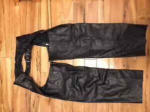 Women's XL Leather Chaps