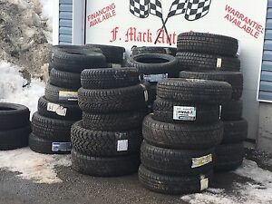 Assorted  brand new tires ...CHEAP! $40 and up !!