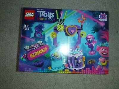 Lego Trolls World Tour Techno Reef Dance Party Boxed Set 41250