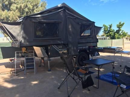 2016 Ezytrail Stirling Z Off Road Hard Floor Camper Trailer