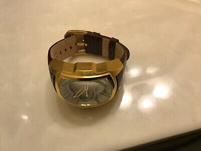 Men's invicta lupah watch blow leather 2 strap big square face