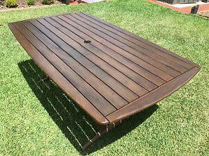 Solid Jarrah Outdoor Table Everard Park Unley Area Preview