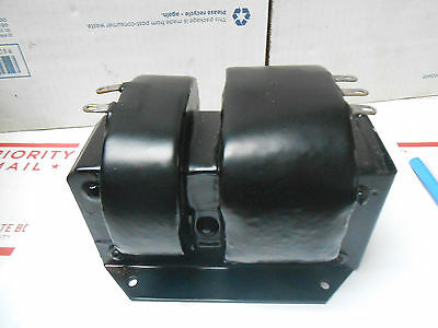 Te-11272 High Voltage Transforer 115vacsec 6000vct Va150freq 60 Cps Nos