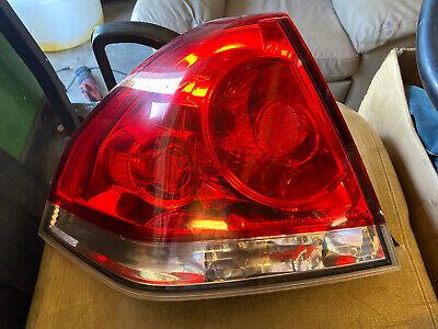 2006-2014 Chevrolet Impala Tail Light LH/Driver OEM Used 25971597