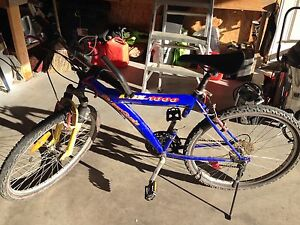 18 speed super cycle adult mountain bike