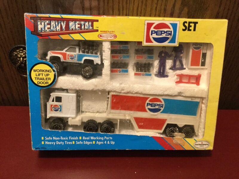 Vintage Remco Heavy Metal 14 Pie Pepsi Delivery Set #11134 Still In Box 1980's