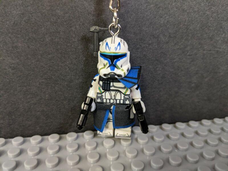 Captain Rex Clone Wars Star Wars Mini Figure Keychain Bag Clip Custom Made