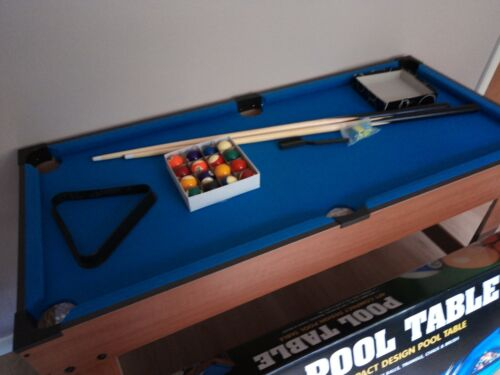 Compact design Pool table suitable for children 5 yrs+