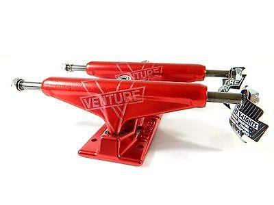 Venture V-Light 5.25 Hi Monochrome Red Skateboard Trucks