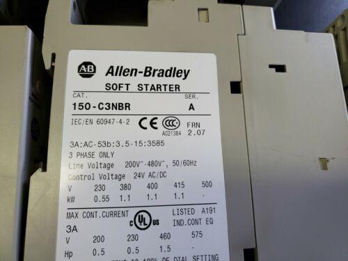 Allen-Bradley Soft Starter, 150-C3NBR Series A