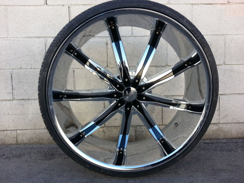 26 inch Dcenti DW29 Wheels Rims & Tires fit 6 X 135 F150 Expedition Navigator