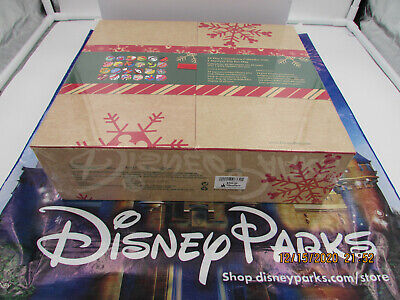 Disney Parks Limited Release 24 Mystery Pins Advent Calendar 2020 Christmas
