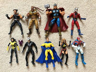 Marvel Legends Action Figures - Loose lot of 9 from Giant Man BAF Series