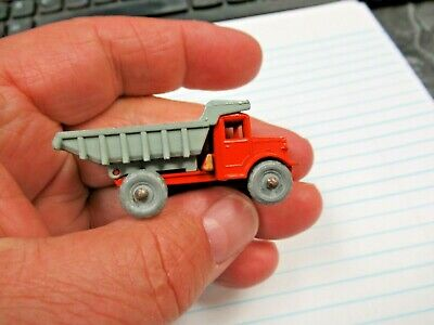 Vintage Lesney England Matchbox No 6 Quarry Truck Grey Wheels 2 1/8""
