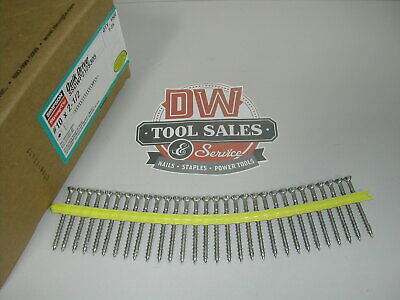 Stainless Steel Quick Drive Collated Screws 2 12 X 10 1500 305ss