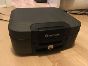 Sentry Fire Safe. Excellent condition. One key.