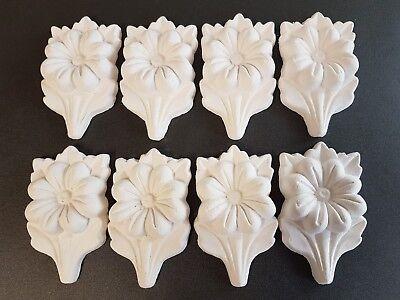 Decorative plaster pieces, 8 pieces, Home decorative, Ceiling design, Art design