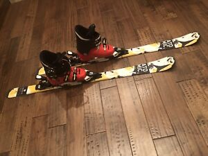 Junior ski's with boots