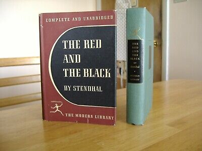 66-Year-Old Modern Library 157.1 Stendhal The Red and the Black DJ