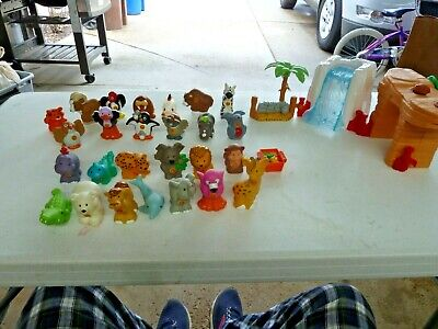 Fisher Price Little People Alphabet A to Z Lot of 26 Learning Zoo Animals ETC