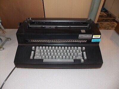 Ibm Correcting Selectric Ii Electric Typewriter Black Working