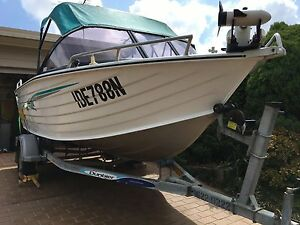 Boat aluminium boat 2006 sea jay 4.70 with Tohatsu 50hp Kearns Campbelltown Area Preview